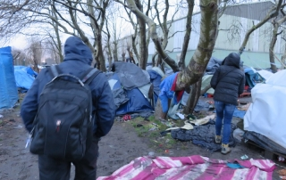 The original Jungle in Calais