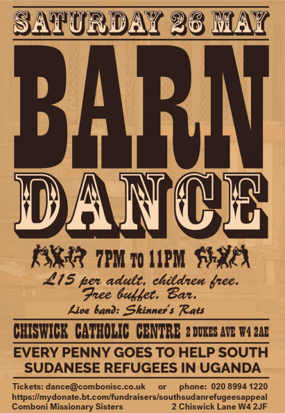 South Sudan Refugees Barn Dance